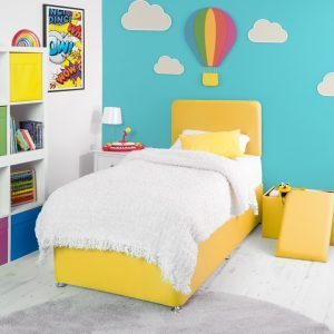 Yellow Bed Divan Base