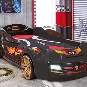 Cilek BiTurbo Black Racing Car Bed