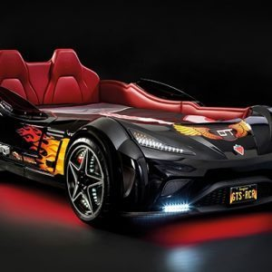 Racing Car Beds with LED Lights and Sounds