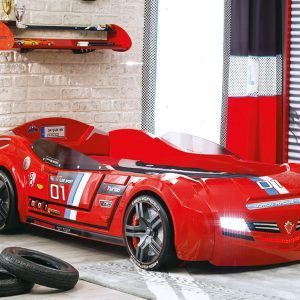 Cilek BiTurbo Red Racing Car Bed